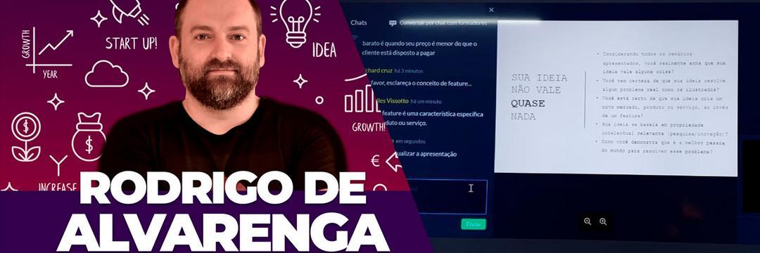 Condor Connect e Rodrigo de Alvarenga promovem o bate papo: Sua ideia não vale quase nada!