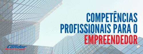 Competências profissionais para o Empreendedor