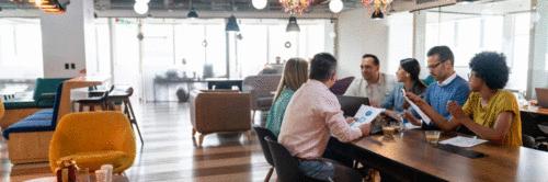 Conexão entre grandes empresas e startups